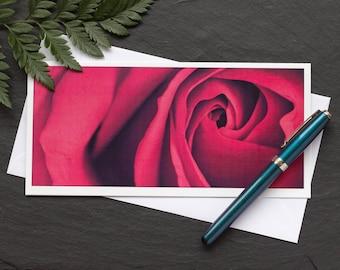 Greetings card - Rose