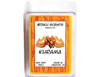 Kurama - Scented Soy Anime Wax Melt Tart - Naruto
