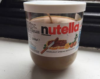 Nutella Candle