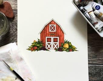 Barn Print
