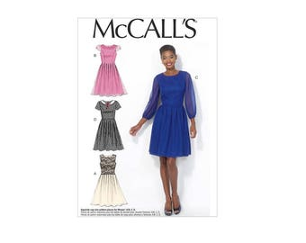 McCall's 7083 - Pleated Skirt Dress Pattern