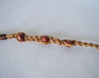 Braided roach clip / alligator clip