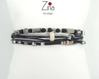 Bracelet multi-row Ivanny