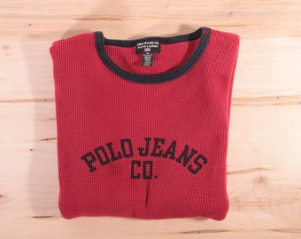 Polo Jeans Co. Vintage long sleeve by Ralph Lauren