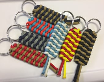 NFL team color Key Chains