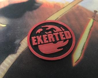 MTG - Exerted Token/Marker 2Pack