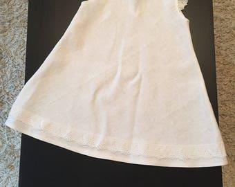 100% Linen handmade dress.
