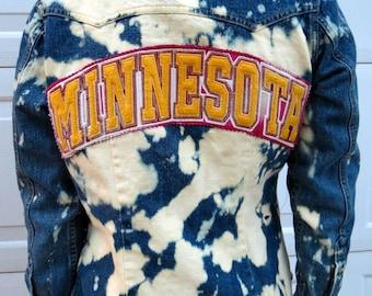 College Jean Jacket (University of Minnesota)