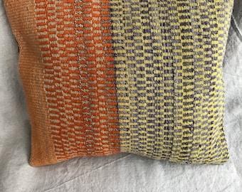 Peruvian Handwoven Wool Throw Pillow Cover