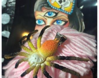 Creepy Spider Hair Clip