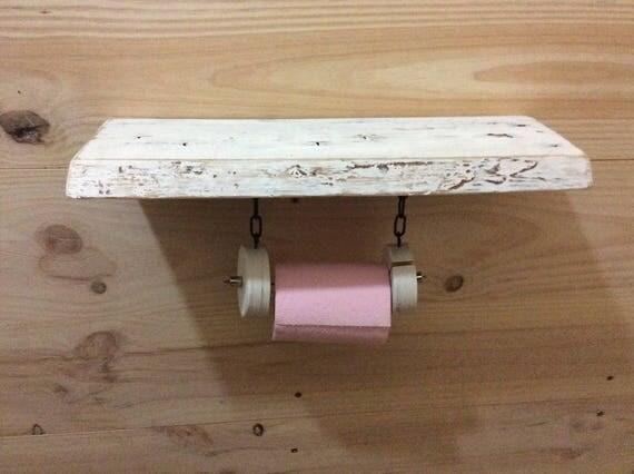 tag re d vidoir papier toilette en bois massif et