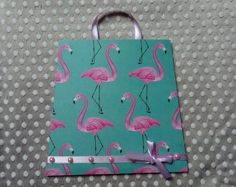 POUCH packaging for gift card PCA0012 flamingos