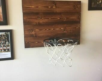 Custom Wood Basketball hoop / backboard