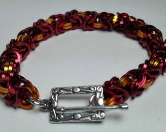 Bracelet Byzantine Squared