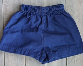 1970s Navy Gym Shorts