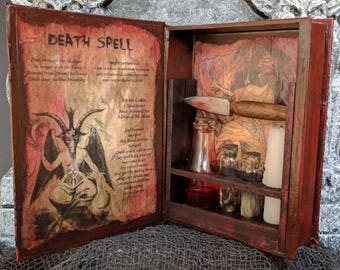 Death Spell Witch Kit, Circle of Blood