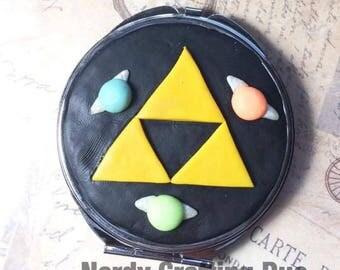 Triforce Compact mirror, Legend of Zelda, Navi