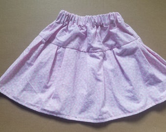 Light pink Twirl Skirt with soft floweral print - 18 months