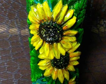 flower handmade candles country style Candles Decorative Candles Sunflowers Candles Set Sunflowers Decorative Candles Set Sunflower Candles