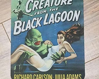 Creature From The Black Lagoon Non-Slip Mouse Pad