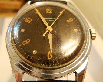 SOVIET watch, RODINA soviet watch, ussr watch, military watch, russian watch, wrist watch, retro watch