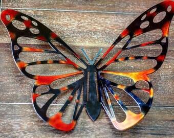 Metal Butterfly, Laser Cut Butterfly, Butterfly Wall Art, Monarch Butterfly  Art, Butterfly