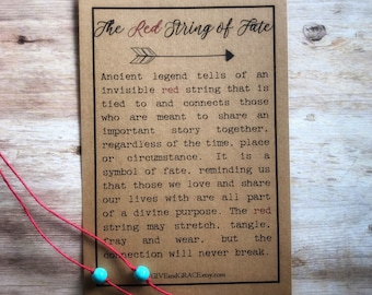 Red String Bracelets | Red String of Fate | Distance Bracelets | Friendship Bracelets | Couples Bracelets