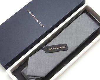Mens Grey necktie Wedding Tie Men's skinny tie Necktie for Men 264tc