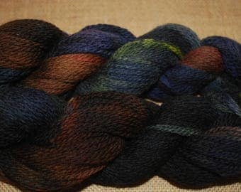 Hand dyed highland wool sport weight