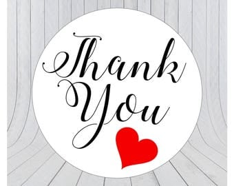 24 x Thank you stickers, thank you labels, packaging labels, packaging stickers, handmade labels, 131