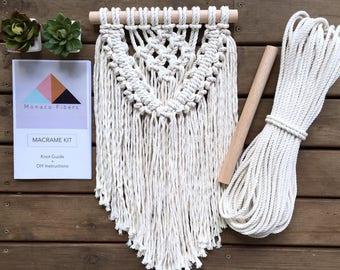 DIY Kit, Macrame Kit, Make Your Own Macrame
