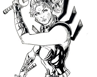 Zealot from Wild Cats and Image Comics