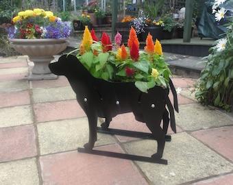 Labrador Themed Garden Flowerpot Planter