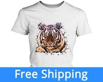 Tiger Shirt | Tigers Shirt | Tiger Birthday | Tiger Tshirt | Detroit Tigers Shirt | Tiger Tank Top | Big Cat Shirt | FREE Shipping to US