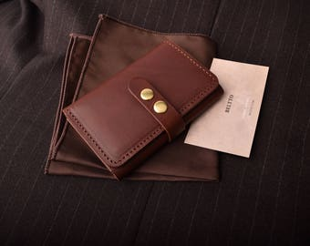 Handmade Leather Business card wallet