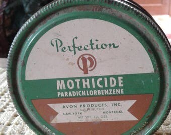 Avon's MOTHICIDE tin.