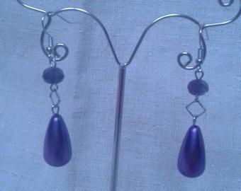 """Earrings """"Purple Symphony"""""""