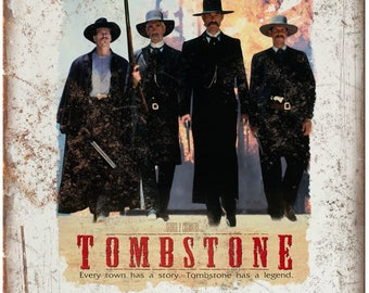 Tombstone Movie Etsy