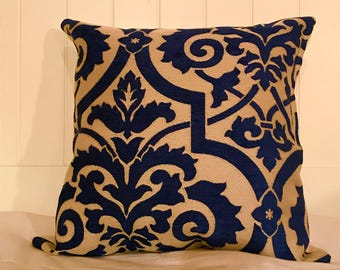 Royal blue throw pillows blue throw pillows