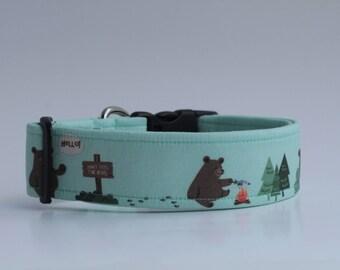 Hello! Dont feed the Bears Dog Collar