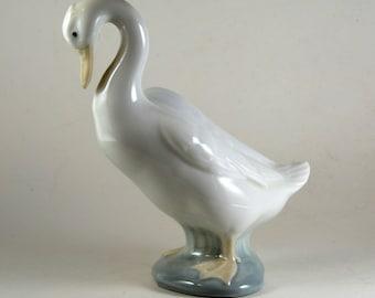 Lladro Goose Figurine From 1978