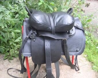 Cossack horse saddle