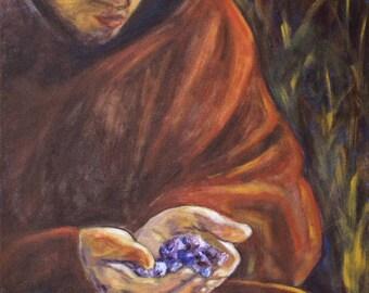 Large acrylic Painting