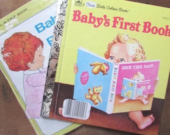 Baby's First Book Set First Little Golden Book Tell A Tale Toddler Read Aloud Books