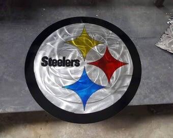 Pittsburgh Steelers Metal Sign