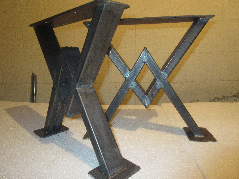 Metal Table Legs Metal Table Base Industrial Loft Vintage