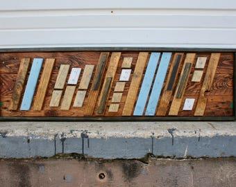"Pallet Wood Art- ""Indecision"""