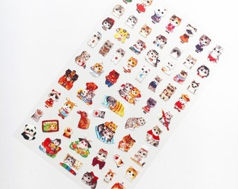 Furry Animals Stickers