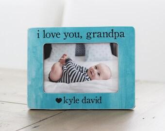 Grandpa Frame GIFT, Grandfather Grandpa Gift, Grandpa Picture Frame, Personalized Picture Frame, From Grandchild