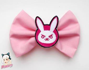 Pink Bunny ~ D.VA Overwatch Bow